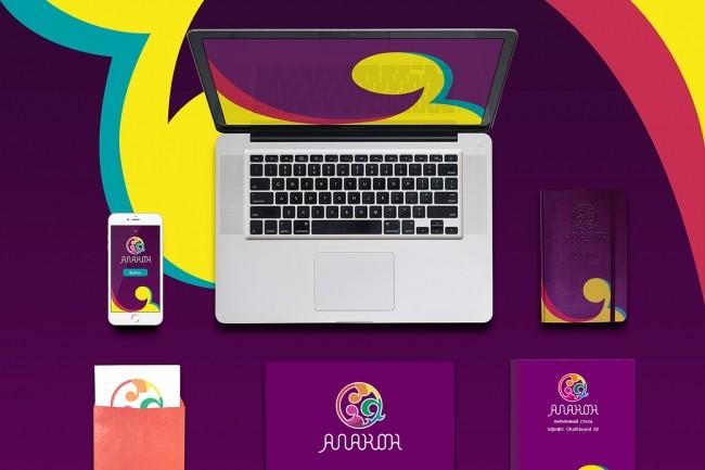 Разработка фирменного стиля по логотипу 1 - kwork.ru