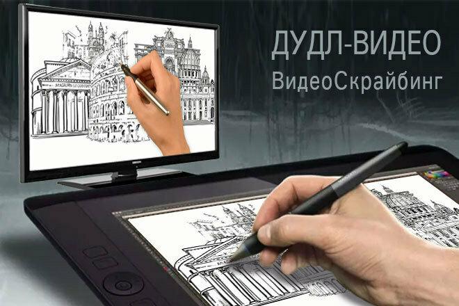 Дудл Видео. Видео Скрайбинг 1 - kwork.ru