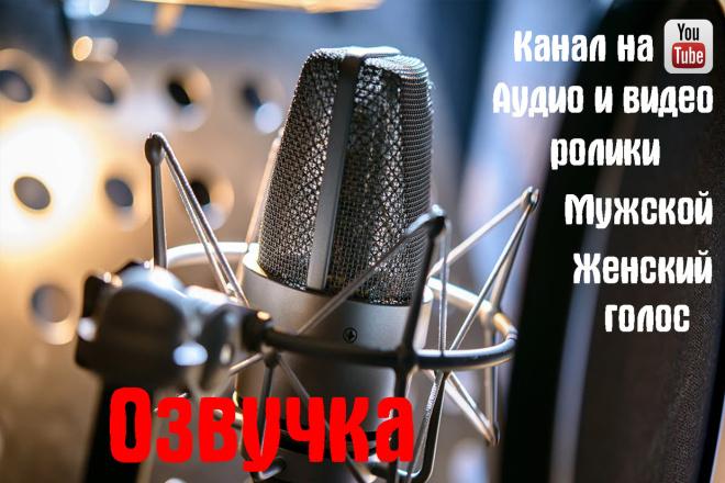 Озвучка текста с обработкой под ключ 1 - kwork.ru