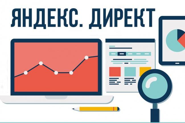 Настройка контекстной рекламы Яндекс Директ с минимальными затратами 1 - kwork.ru