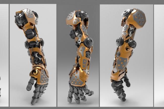 Текстурирование 3D модели 1 - kwork.ru