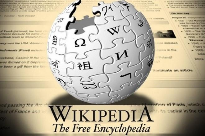 Ссылка на ваш сайт из Википедии 1 - kwork.ru
