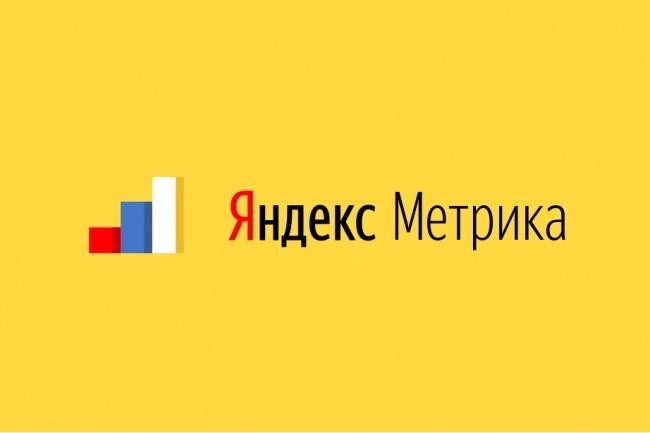 Подключение Яндекс Метрики и настройка целейСтатистика и аналитика<br>Без анализа показателей невозможно добиться целей рекламы и продвижения сайта. Эту задачу решает незаменимый инструмент Яндекс Метрика вкупе с настроенными целями. В 1 кворке: Регистрация счетчика Яндекс Подключение сайта к Метрике Общая настройка Метрики Создание до 3 целей по типу: посещение страницы, количество просмотренных страниц Связка Метрики с рекламной кампанией Яндекс Директ<br>