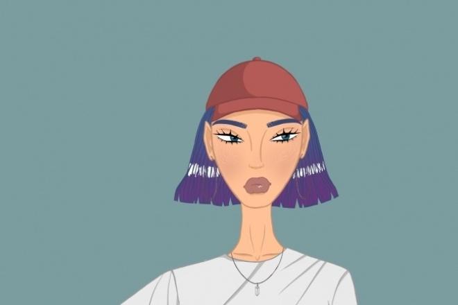 Нарисую аватарку в любом стиле 1 - kwork.ru