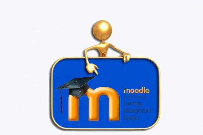 Установлю Moodle на Ваш хостингДомены и хостинги<br>Установлю Moodle на Ваш хостинг. Moodle — система управления курсами (электронное обучение), также известная как система управления обучением или виртуальная обучающая среда (англ.). Является аббревиатурой от англ. Modular Object-Oriented Dynamic Learning Environment (модульная объектно-ориентированная динамическая обучающая среда). Представляет собой веб-приложение, предоставляющее возможность создавать сайты для онлайн-обучения. Moodle может масштабироваться с сайта одного учителя в университет с 200 000 студентов. При необходимости развернуть сервис вебинаров закажите дополнительные опции. Для разовых вебинаров закажите соответствующий кворк. Если необходим хостинг или доменное имя – закажите дополнительные опции. При заказе хостинга на один год – домен ru. или рф. бесплатно.<br>