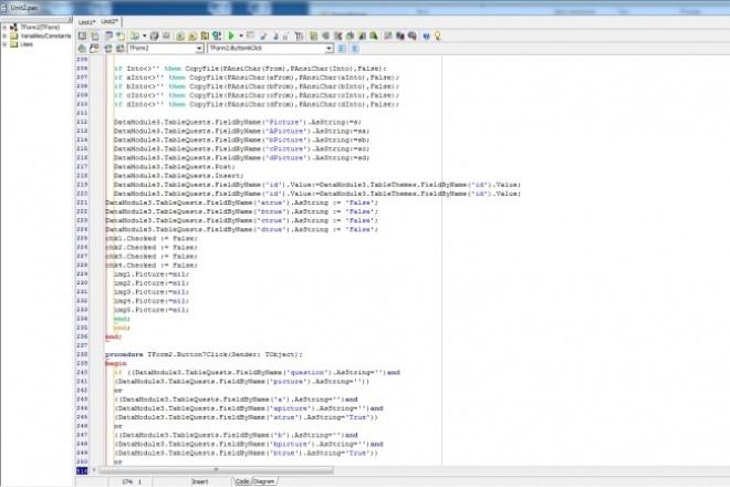Программа на Delphi, C++ BuilderПрограммы для ПК<br>Разработка программ под Windows на Delphi или C++Builder. Решение задач на Delphi или C++Builder. Решение лабораторных на Delphi или C++Builder.<br>