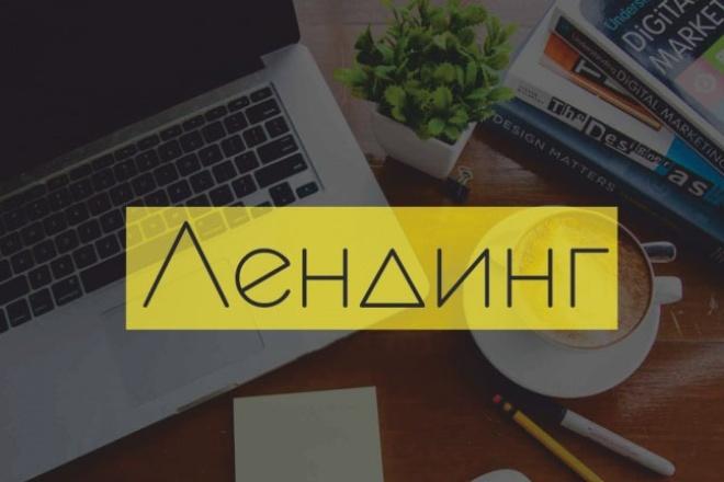 Сделаю копию одностраничного сайта и настрою Landing Page 1 - kwork.ru