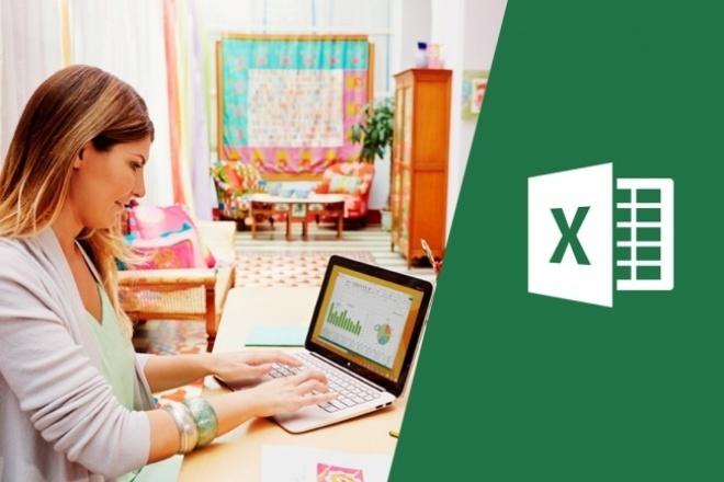 Работа с документами ExcelПерсональный помощник<br>Работа с таблицами Excel: внесение данных, расчет по формулам, создание диаграмм, маркеров. Опыт работы с таблицами - 10 лет.<br>