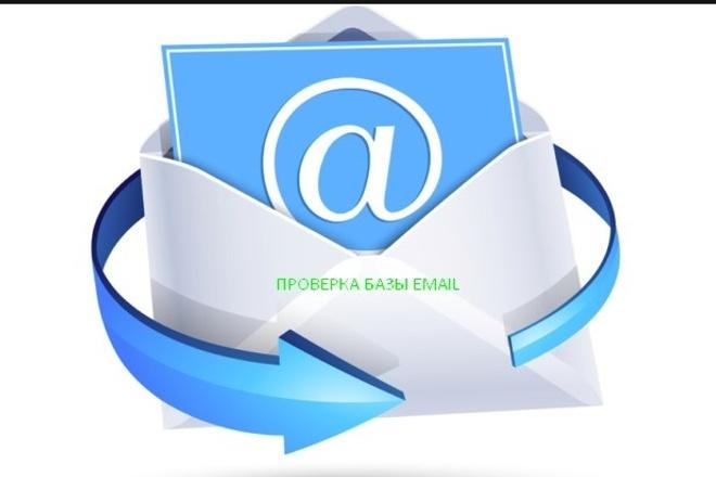 Проверка вашей Email базы на валидность общим количеством до 110 000E-mail маркетинг<br>Проверка вашей Email базы на валидность общим количеством до 110 000 адресов заказав этот кворк, вы получаете почищенную, полностью валидную базу E-mail адресов в формате тхт. Для удобства в текстовом файле в каждой строке 1 адрес для дальнеишего его использования.<br>