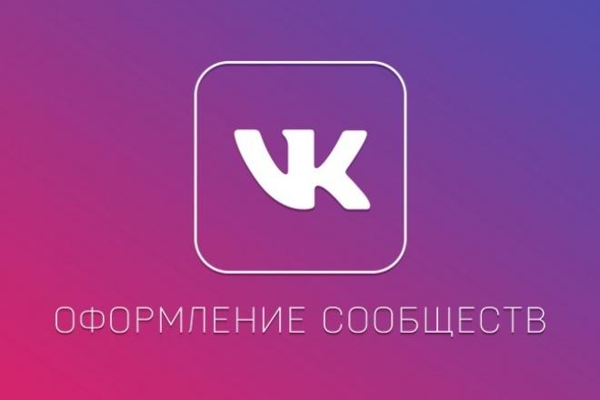 Оформление тематических групп-пабликов 1 - kwork.ru