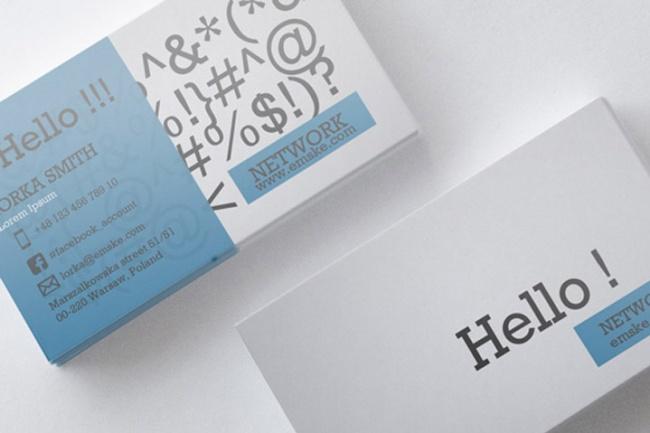Создам креативную визиткуВизитки<br>Создам макет креативной визитки! В работу входит: 1. Макет визитки 2. 3 варианта выбранного дизайна Для начала работы, заполните форму ТЗ, от качества его заполнения напрямую зависит результат!<br>