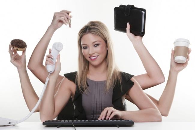 Выполню рутиную работу, обзвоню теплую базу клиентовПерсональный помощник<br>Выполню за вас рутиную работу: - работа в Word, Exсel, - работа с электронной почтой, - работа в инстаграмм (отписаться от подписок), - обзвоню теплых клиентов (например напомнить о встрече, опрос качества работы), - поиск информации в интернете, - набор, редактирование текста, и т.д. Готова к экспериментам.<br>