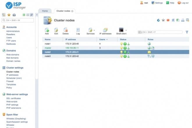 Настройка и установка продуктов ISPsystemАдминистрирование и настройка<br>Установка и базовая настройка web панели на выбор: 1) -?ISPmanager , 2) -?BILLmanager , 3) -?VMmanager , 4) -?DCImanager , 5) -?DNSmanager , 6) -?IPmanager , 7) -?COREmanager . Почему стоит заказать у меня? Быстро! 100% Гарантия качества! Постоянная поддержка! Общие требования: На вашем сервере должен быть установленный CentOS 7 и выше на физическом или виртуальном сервере.<br>