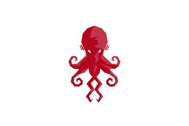 Разработаю логотип по вашему заказу или заранее готовому рисунку 1 - kwork.ru