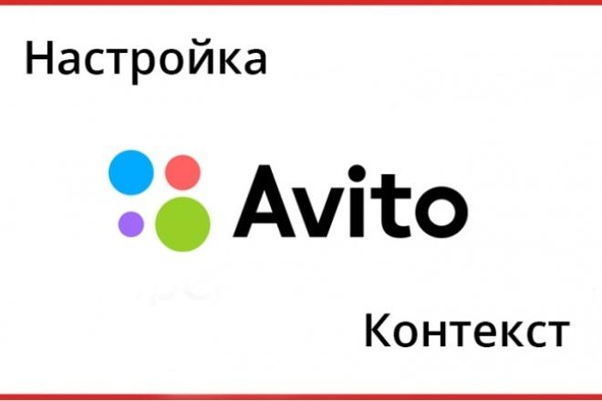 Настройка контекстной рекламы Авито 1 - kwork.ru