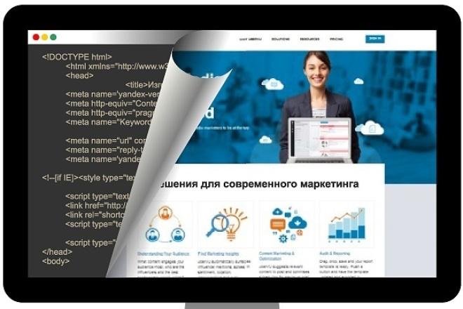Верстка страницВерстка<br>Чистая верстка, с применением адаптивных media-запросов и flexbox по БЭМ-методологии. Также верстка на Bootstrap или БЭМ.<br>