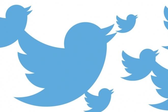 1720 подписчиков в ваш аккаунт твиттерE-mail маркетинг<br>Увеличу количество подписчиков в вашем Твиттере, никаких санкций от соцсети. За качеством слежу, буду рада обратной связи. Быстро, живые люди, не боты. буду рада за обратный отклик. Аудитория преимущественно русскоязычная. Внимание! В будущем часть подписчиков может отписаться. но обычно не более 5%. Срок выполнения 1-2 дня.<br>