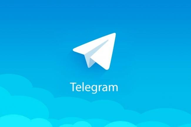 300 живых людей подписавшихся на канал в TelegramПродвижение в социальных сетях<br>300 подписчиков на канал! Привлечение идет с помощью бота, люди живые и отписываться им запрещено в течение недели после подписки. По истечению недели около 10-15% скорее всего отпишутся.<br>