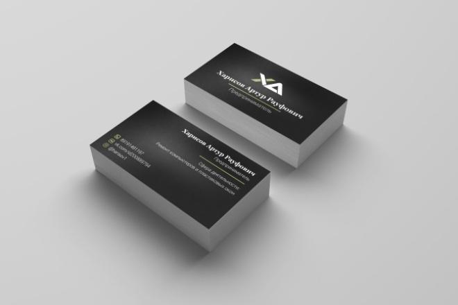 Дизайн визиткиВизитки<br>Уникальный дизайн визитки. В комплекте: - дизайн двусторонней визитки, - файл . png для печати ( дизайн выполнен по всем правилам предпечатной подготовки), - визуализация. Возможен также заказ исходников в форматах . psd, . ai - отдельным кворком.<br>