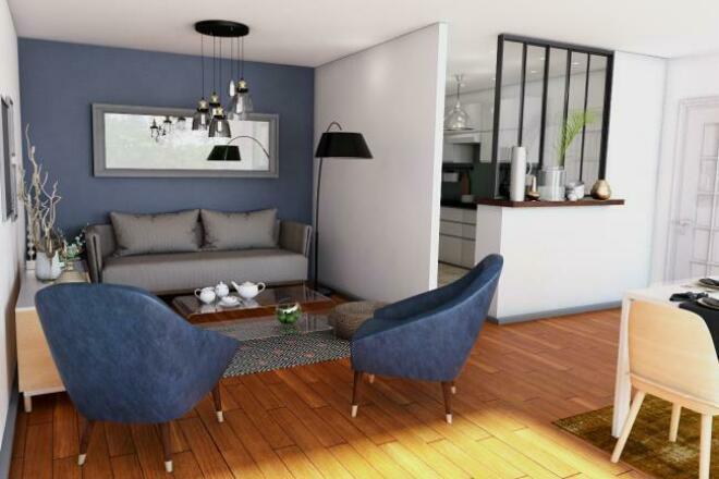 Дизайн и визуализация интерьера по техзаданиюМебель и дизайн интерьера<br>Предлагаю услуги дизайнера-визуализатора по Вашему техзаданию. Также выполняю работы по предметной визуализации<br>
