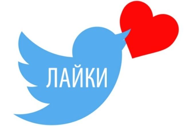 +300 живых лайков, сердечек на пост в TwitterПродвижение в социальных сетях<br>Добавление твитта в избранное повышает популярность поста и хештегов из него. Полезно для SEO / SMO / SMM.<br>