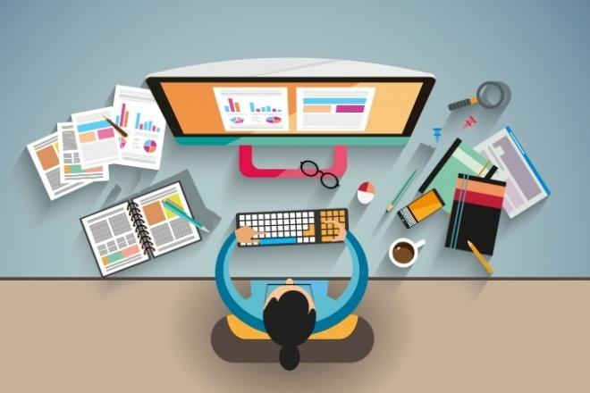 Настрою работу сайта на любой CMSАдминистрирование и настройка<br>Kwork включает в себя: Настройку вашего сайта, или установка и настройка выбранной вами cms на ваш хостинг.<br>