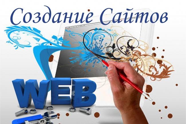 Разработаю сайт с индивидуальным дизайном 1 - kwork.ru