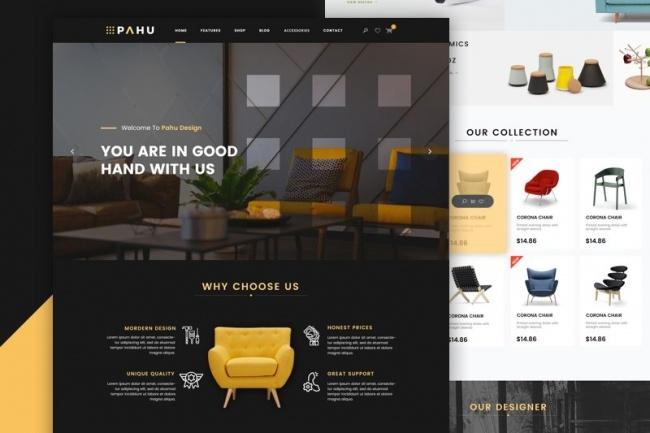 Дизайн для Landing PageВеб-дизайн<br>Дизайн для Landing Page, который формирует доверие к вашему проекту и помогает увеличить продажи/повысить активность. Создается в Adobe Photoshop. В результате получаете исходники в формате PSD .<br>