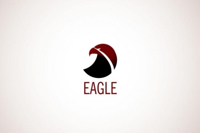 Создам современный и стильный логотип 1 - kwork.ru