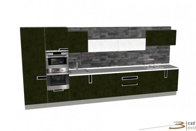 нарисую в программе 3d проект кухни или шкафа за 500 руб
