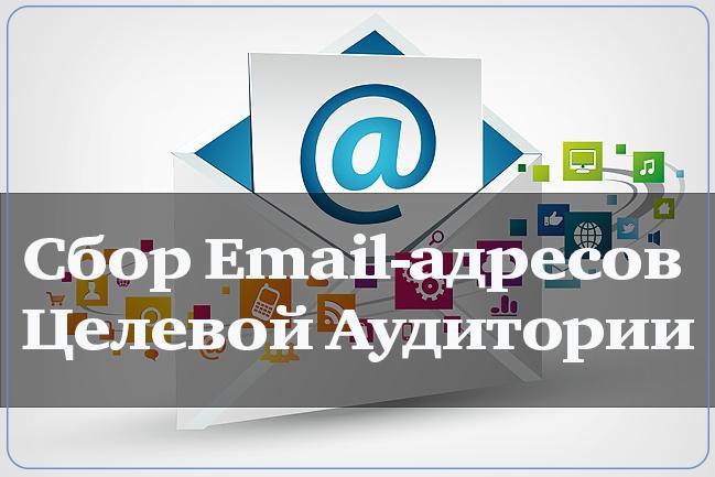 Сбор Email-адресов целевой аудитории до 2000 адресов 1 - kwork.ru