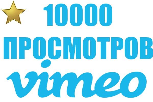 Vimeo просмотры 1000Продвижение в социальных сетях<br>Мы готовы выполнить кворк и доставить вам 10000 просмотров видео на Vimeo/Вимео. Срок выполнения: Обычно заказ выполняется в течение 24 часов! Просмотры приходят из трафика реальных людей из социальных сетей. Просмотры на вимео остаются навсегда! Также наша компания предоставляет полный спектр услуг по продвижению на Youtube, Instagram, Twitter, Facebook, Vimeo. Подробнее вы можете посмотреть в профиле на http://kwork.ru/user/seo_boost Во время заказа у нас не заказывайте у других продавцов, чтобы избежать недопонимания! Постоянным клиентам бонусы! Мы на рынке с 2010 года! Гарантируем качественное выполнение услуг!<br>