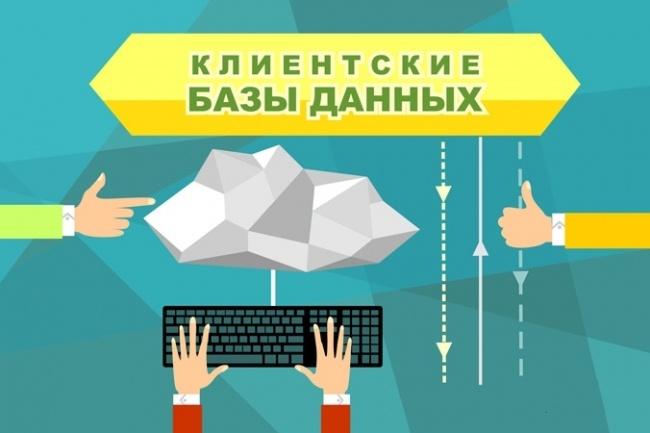 База клиентов 1 - kwork.ru