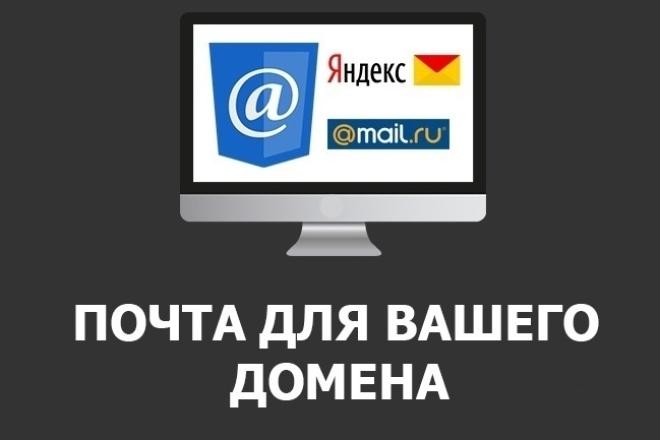 Почта для вашего домена 1 - kwork.ru