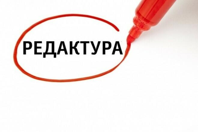 Отредактирую текст и исправлю ошибки 1 - kwork.ru