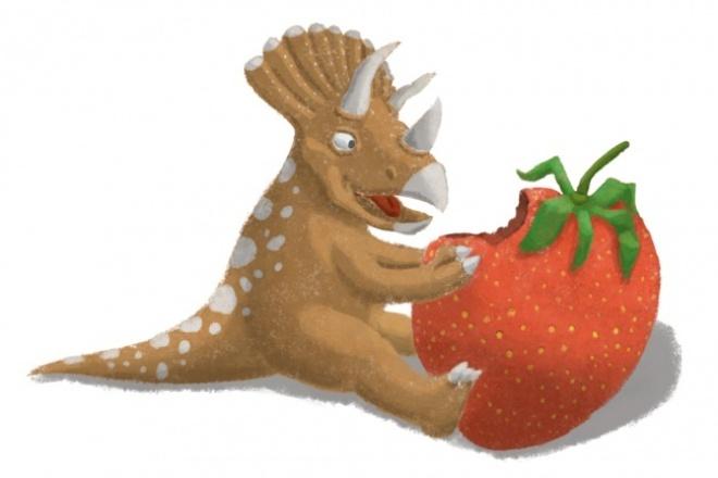Нарисую детскую иллюстрацию в векторе или растре 1 - kwork.ru
