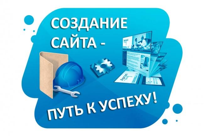 Современный сайт на WordPress под ключ 1 - kwork.ru