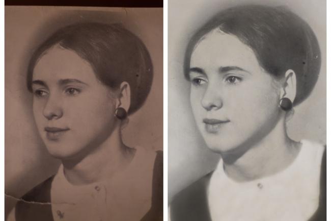 Выполню реставрацию старых фотографий 1 - kwork.ru