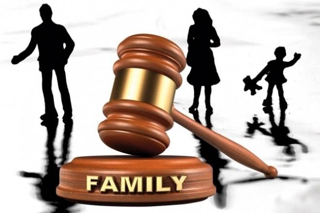 Исковое заявление в сфере семейного права 1 - kwork.ru