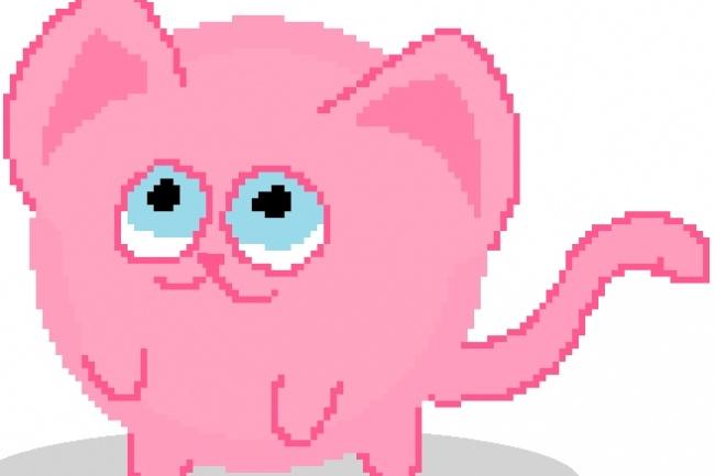 Создам для тебя пиксельного персонажа 1 - kwork.ru