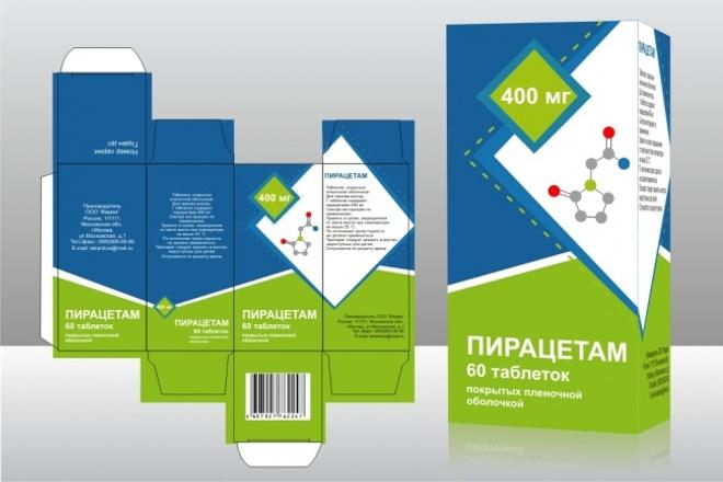 Дизайн упаковки, этикетки любого товара 1 - kwork.ru