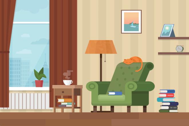 Рисунки и иллюстрации, растр, вектор 1 - kwork.ru