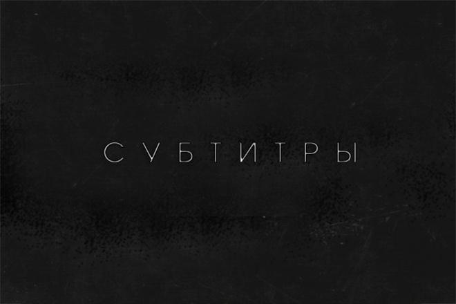 Вставлю субтитры к вашему видео 1 - kwork.ru