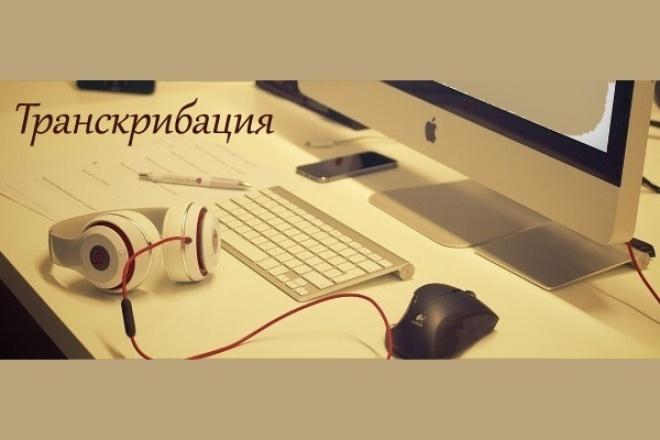 Транскрибация, перевод изображения, аудио и видео в текст 1 - kwork.ru