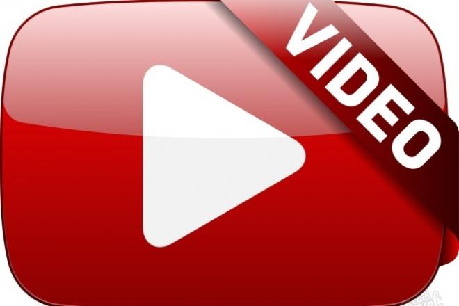 Создам видеоролик с нуляВидеоролики<br>Создам для Вас видеоролик с нуля или из Ваших файлов. Опыт работы с видео более 4-ех лет, имею свой ютуб канал. Сделаю видео за 1-2 дня.<br>