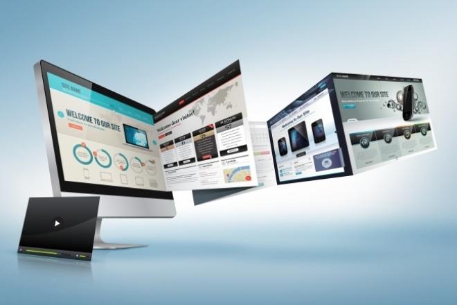 Сделаю сайт кредитку, домашнюю страницу или лендинг 1 - kwork.ru