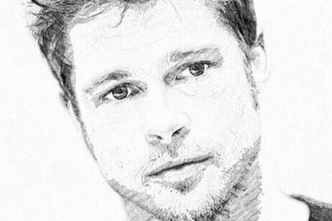 Ваш портрет по фото. До 5 рисунковИллюстрации и рисунки<br>Нарисую ваш портрет по любому фото. До 5 рисунков в кворке. Исполню в короткие сроки. Пробуйте, вам понравится.<br>