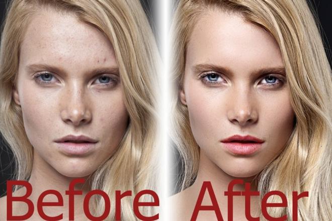Профессиональная ретушь и обработка фотографииОбработка изображений<br>Профессионал, занимающийся ретушью, редактированием и обработкой фотографий более 5 лет, сделает из любой обыкновенной женщины настоящую модель.<br>