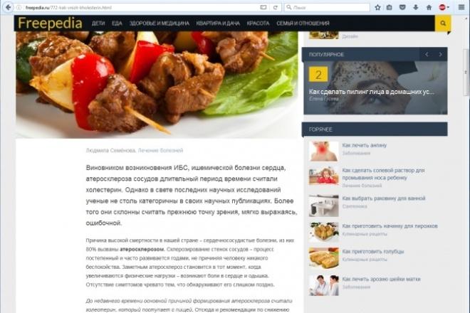 Статьи по философии, медицине, экологии 1 - kwork.ru