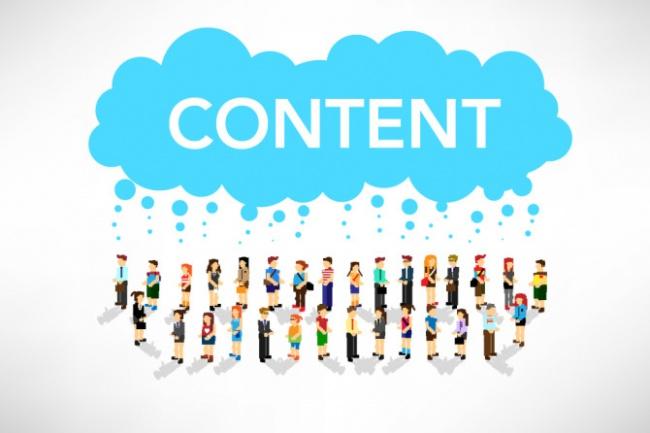 Заполню сайт контентомНаполнение контентом<br>Выполню качественное наполнение сайта, с подбором тематических картинок и уникальным оформлением. Вы получите: 1. Оформление статьи (форматирование, размещение тегов) 2. Поиск тематических изображений (наложение водяных знаков и т.д., если требуется) 3. Перелинковка 4. Публикация Возможны любые пожелания заказчика, всю работу с контентом по сайту беру на себя.<br>